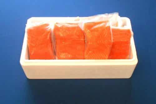 Fresh Wild Alaskan Coho (Silver) Salmon - Boxed