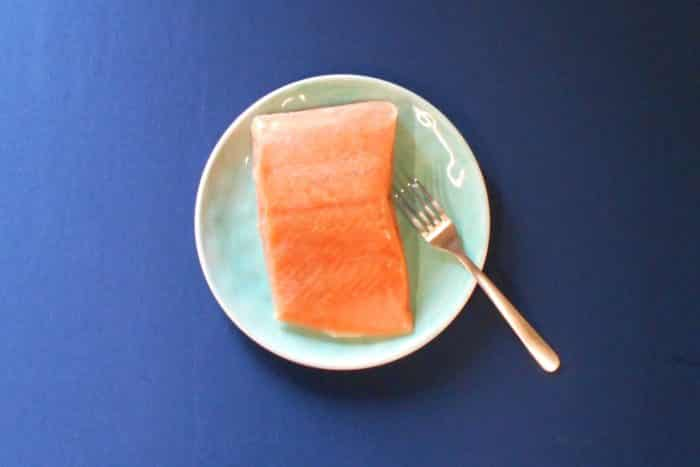Fresh Wild Alaskan Coho Salmon - Plated