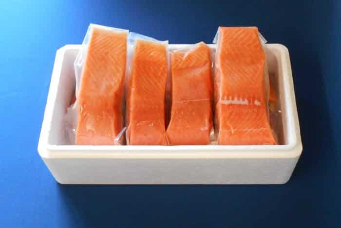 Fresh Wild Alaskan Alaskan King Salmon - Boxed