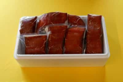 Hot Smoked Wild Alaskan King Salmon - Boxed