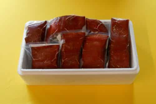 Hot Smoked Wild Alaskan King Salmon - Boxed