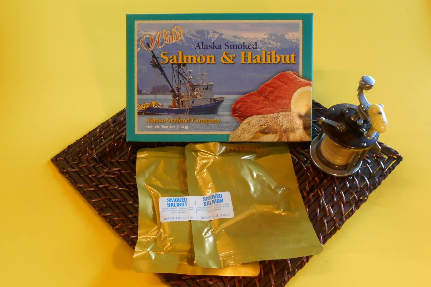 Smoked Salmon and Halibut Gift Box