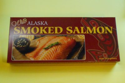 Pacific Salmon gift box 16 oz fillet
