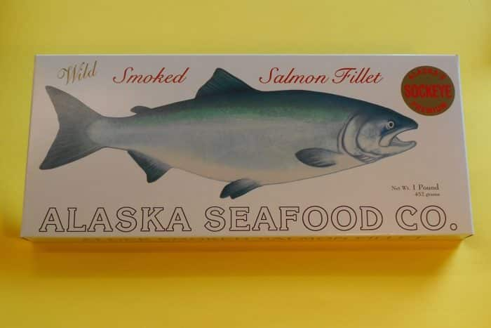 Smoked Sockeye Gift Box 16 oz Fillet