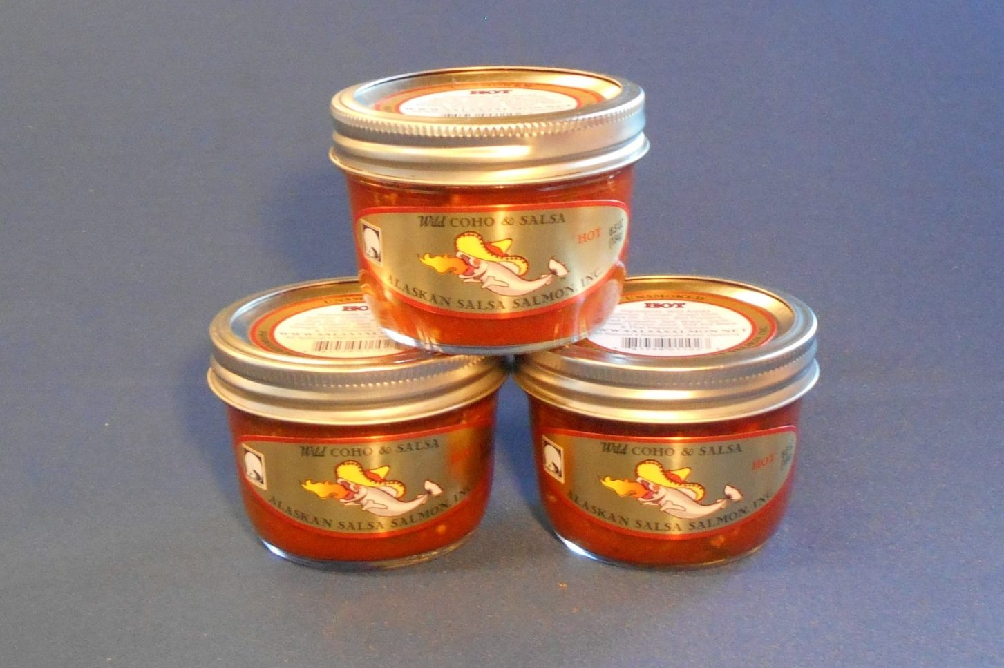 Coho Salsa Jars Hot