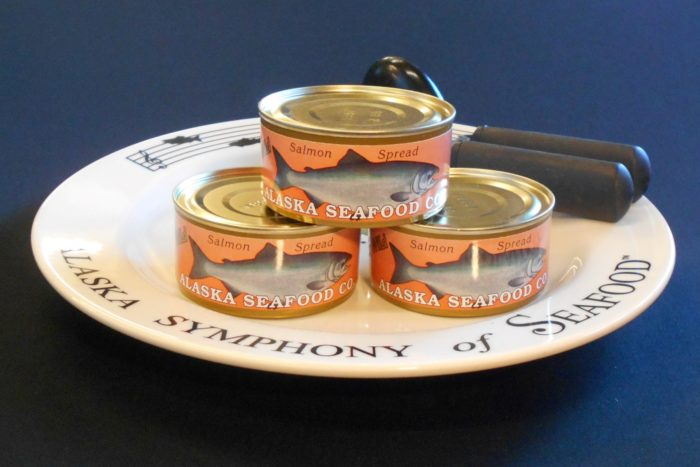 Salmon Spread Can