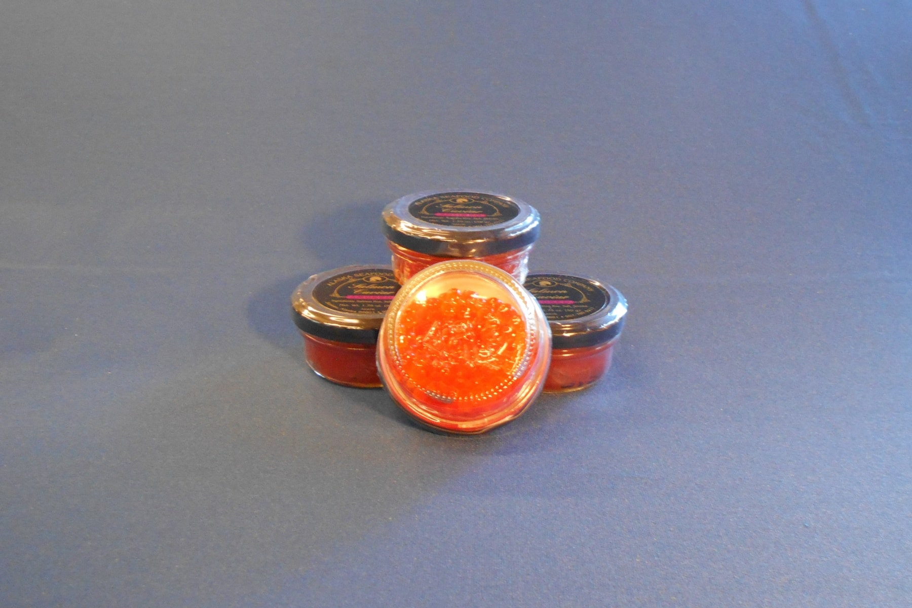 Smoked Wild Alaskan Caviar - Bottom View