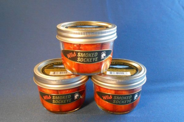 Smoked Sockeye Salmon Jars