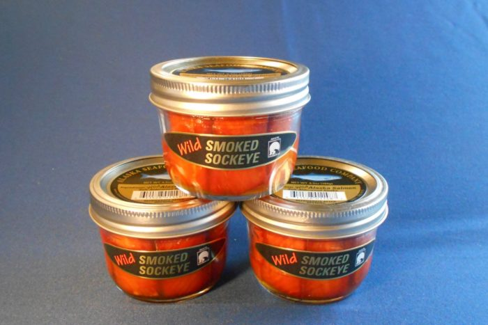 Smoked Sockeye Salmon Jars