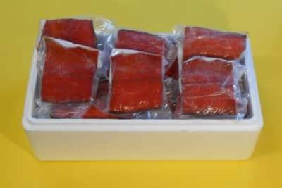 Hot Smoked Sockeye Salmon - Boxed