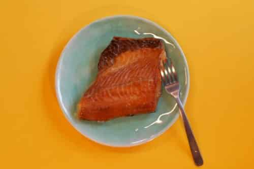 Smoked Wild Alaskan Black Cod - Plated