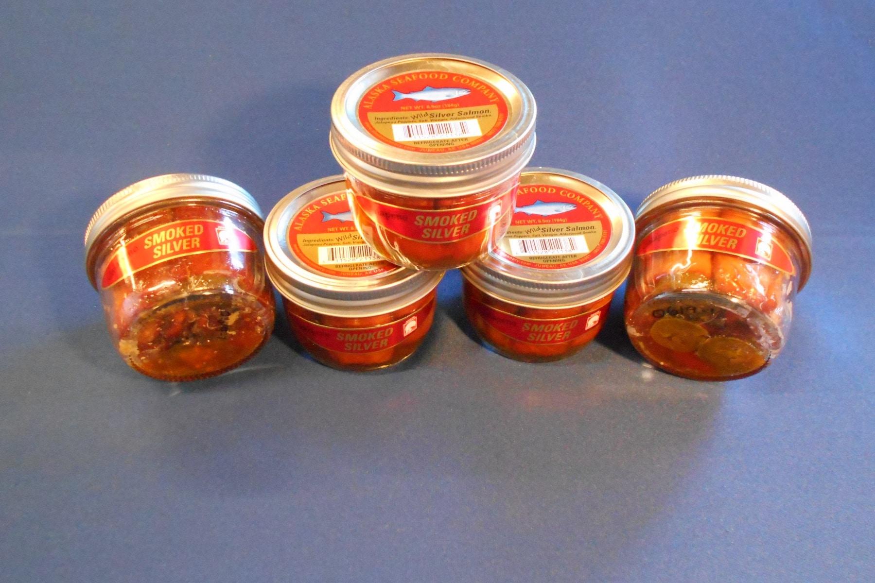 Smoked Coho Jalapeno Jars