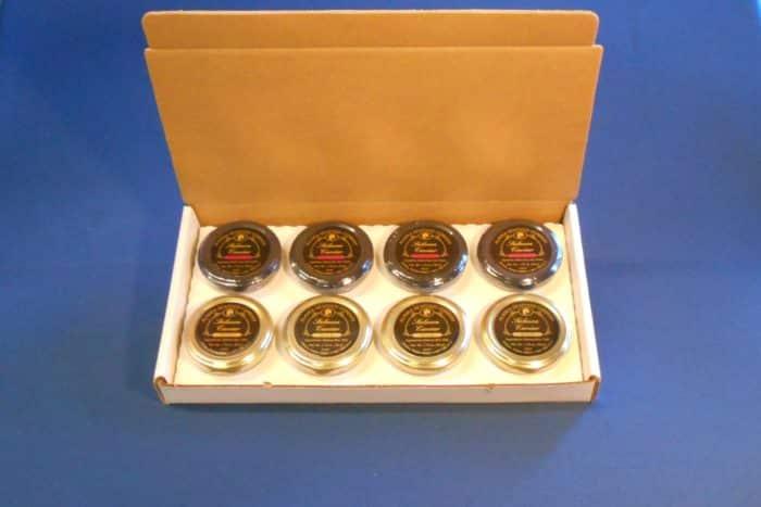 Wild Alaskan Salmon Caviar and Smoked Wild Alaskan Caviar Combo Pack - Boxed