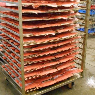 Smoking Salmon: Brined Salmon Fillets