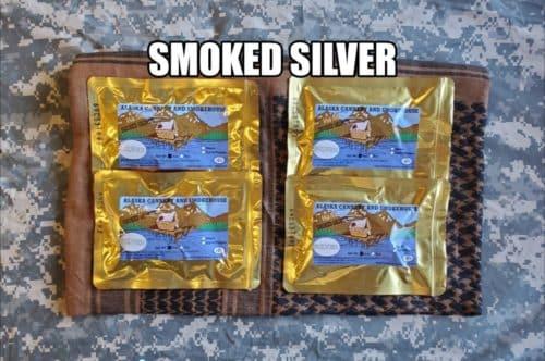 Smoked Silver Salmon